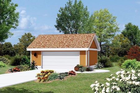 Garage Plan 87836 Elevation