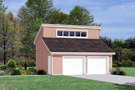 Garage Plan 87837 Elevation