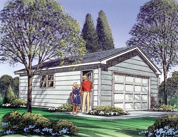 Garage Plan 87839 Elevation