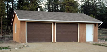 2 Car Garage Plan 87846 Elevation
