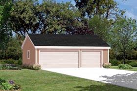Garage Plan 87847 | Style Plan, 3 Car Garage Elevation