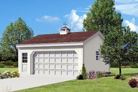 Garage Plan 87852