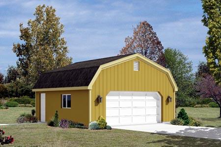 Garage Plan 87853 Elevation