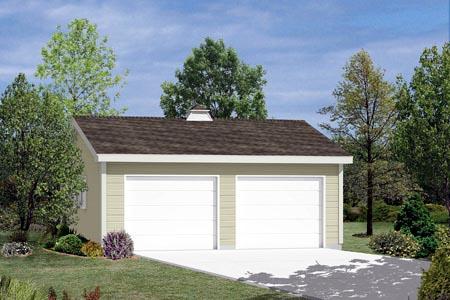 Garage Plan 87855