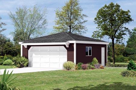 Garage Plan 87856