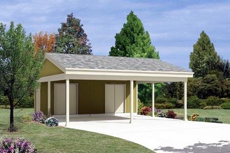 Garage Plan 87867 Elevation