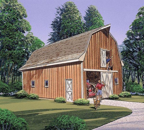 Garage Plan 87870