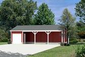 Garage Plan 87874