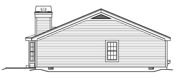 Country, Ranch, Traditional House Plan 87877 with 3 Beds, 2 Baths, 1 Car Garage Picture 1