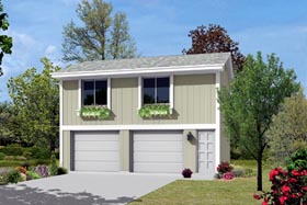 Garage Plan 87879 Elevation