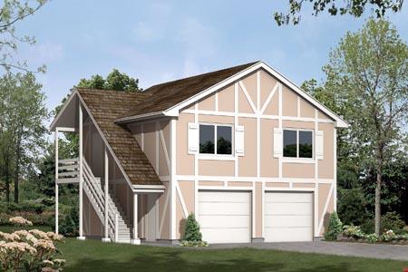 Garage Plan 87883 Elevation