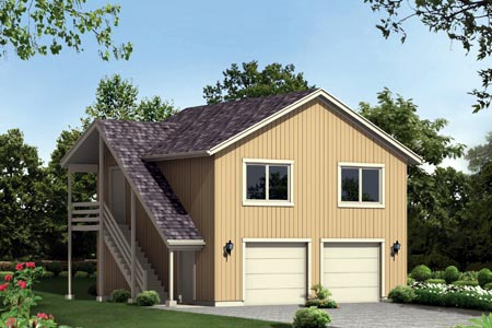 Garage Plan 87888 Elevation