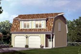 Plan Number 87892 - 604 Square Feet