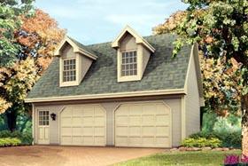 Garage Plan 87894 Elevation