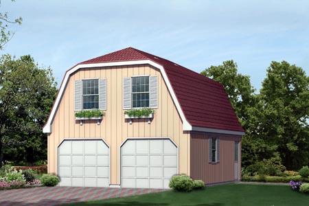 Garage Plan 87895 Elevation