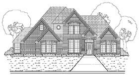 European House Plan 87901 Elevation