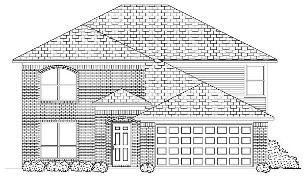 Traditional House Plan 87909 Elevation