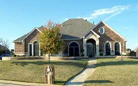 European House Plan 87910 with 3 Beds, 3 Baths, 3.5 Car Garage Elevation