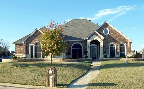 European House Plan 87910 with 3 Beds, 3 Baths, 3.5 Car Garage Front Elevation