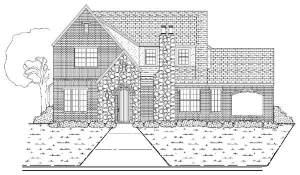 Traditional House Plan 87915 Elevation