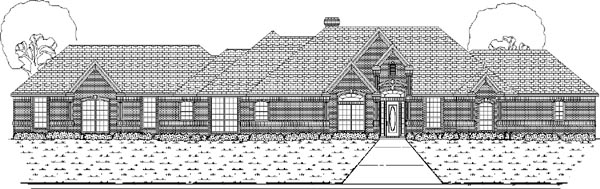 Traditional House Plan 87916 Elevation