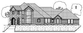 European House Plan 87918 Elevation