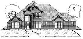 Plan Number 87920 - 3560 Square Feet