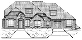 Plan Number 87926 - 3667 Square Feet