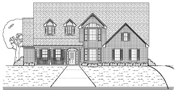 Traditional House Plan 87930 Elevation