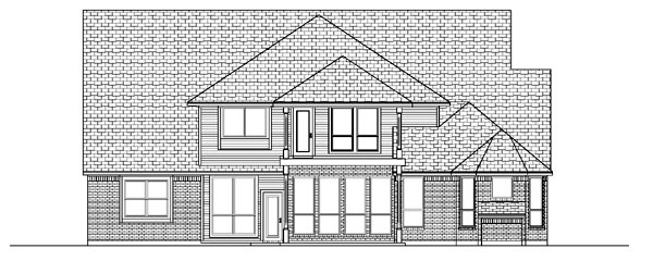 Traditional House Plan 87930 Rear Elevation