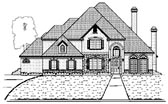 Plan Number 87932 - 3921 Square Feet