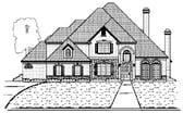 Plan Number 87932 - 3921 Square Feet