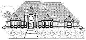Plan Number 87933 - 4020 Square Feet