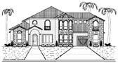 Plan Number 87936 - 4145 Square Feet