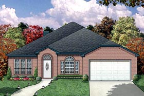 Traditional House Plan 87953 Elevation