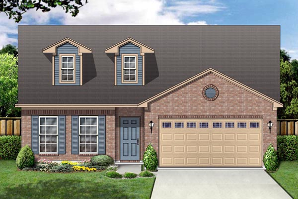 Cape Cod House Plan 87954 Elevation