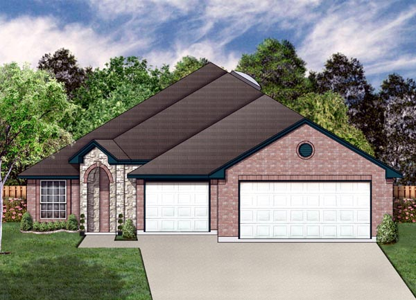 Traditional House Plan 87955 Elevation