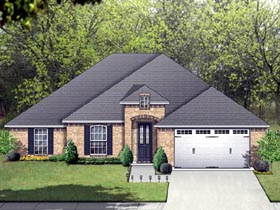Traditional House Plan 87957 Elevation