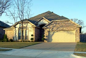 House Plan 87959 | European Style Plan with 2508 Sq Ft, 3 Bedrooms, 2 Bathrooms, 2 Car Garage Elevation