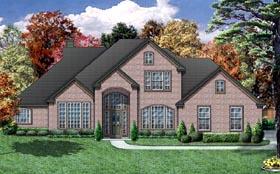 European House Plan 87960 Elevation
