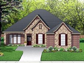 European Traditional House Plan 87984 Elevation