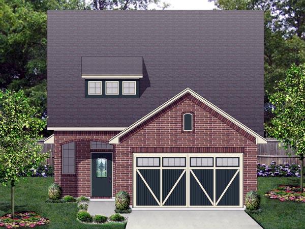 Cottage House Plan 87986 Elevation