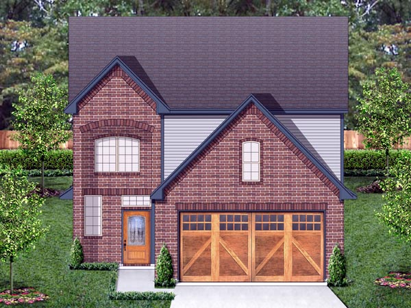 Traditional House Plan 87987 Elevation