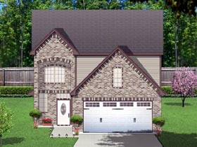Traditional House Plan 87988 Elevation