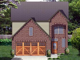 Traditional House Plan 87990 Elevation