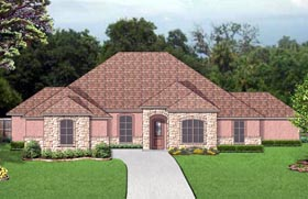 Plan Number 87995 - 3087 Square Feet