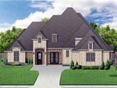 Plan Number 87999 - 4031 Square Feet