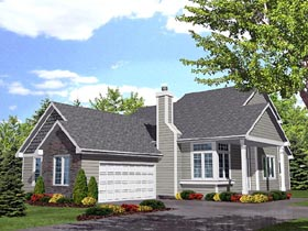 Traditional House Plan 88014 Elevation