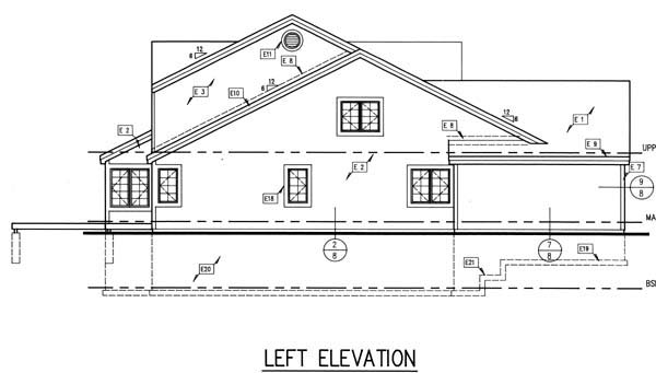 Country, Traditional House Plan 88154 with 3 Beds, 3 Baths, 2 Car Garage Picture 1