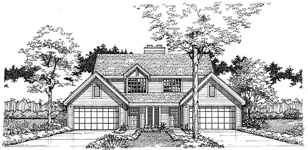 Multi-Family Plan 88158